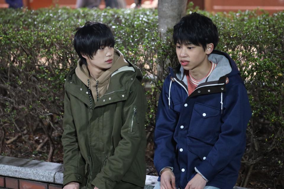 次回の『#年下彼氏』は…#16『にどめのはつこい』高校生の三﨑翼(#嶋﨑斗亜)は同級生の光(#當間琉巧)に頼まれ光の祖母、絹子(#倉野章子)と2人で会い始める。年を取り記憶が少女に戻ってしまった絹子は翼を初恋の人と信じていて…詳しいストーリーは番組サイトで✏️