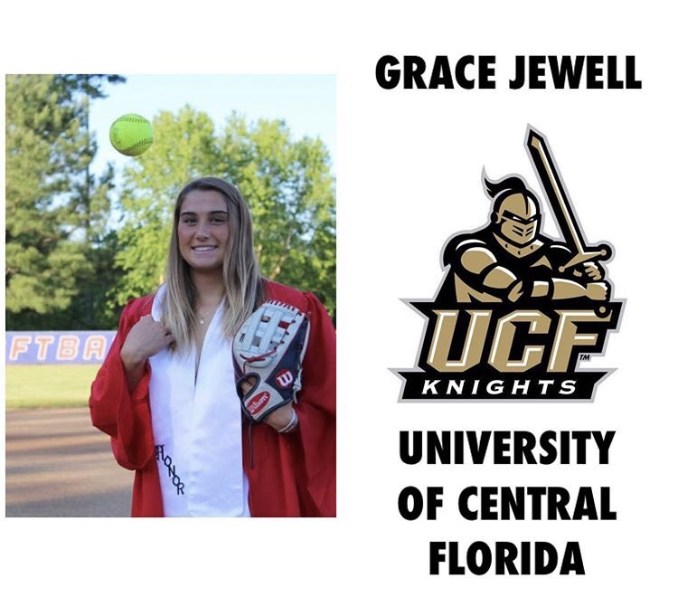 Our 4th senior recipient of the JSF Memeorial Scholarship is Grace Jewell. We are so excited for Grace who will her softball career @UCFKnights! We ♥️ you!! ❤️🐻💙🥎❤️ #gogrizzlies #thegrizzlyway #foreveragrizzly https://t.co/NI7R1yNh2z