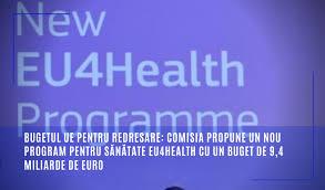 Comisia a propus un nou program ambițios de sănătate, independent, pentru perioada 2021-2027 - Programul de sănătate EU4Health, cu un buget de 9,4 miliarde de euro: ec.europa.eu/romania/news/2…