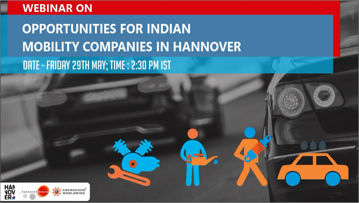 We are going live today at 2.30 PM and will be answering all your questions through our live channel. Stay tuned for updates.  #India #Industry #webinar #Businessopportunity #mobility #europe #germany #Hannover #Investmentopportunity #InternationalBusiness #globalExpansion https://t.co/xfeqUwyXxQ