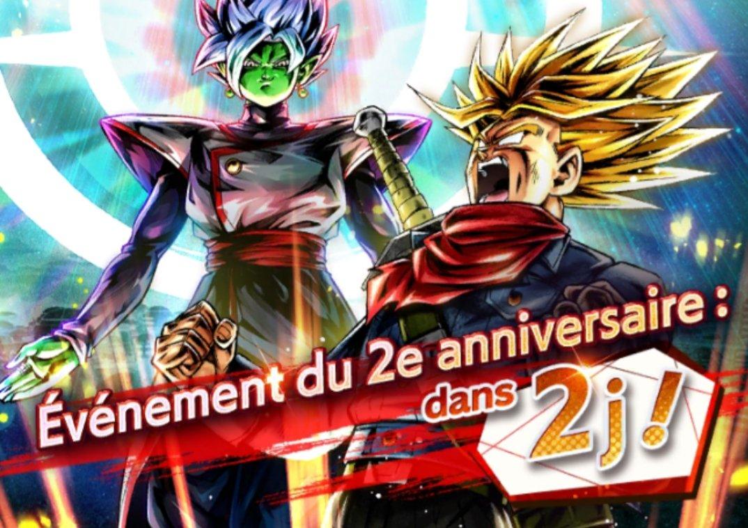 2J AVANT LE 2E ANNIVERSAIRE ! *29/05/2020*  Zamasu : Fusion et Trunks jeune Super Saiyan : furieux  deux nouveaux personnages arrivent !!  Nous publierons bientôt leurs vidéos d'introduction, alors rester bien attentifs !   #DBLegends #Dragonball https://twitter.com/Db_legends_fr/status/1266267287348056064/photo/1pic.twitter.com/ZN5MNFC4popic.twitter.com/qJj6nrkcmp