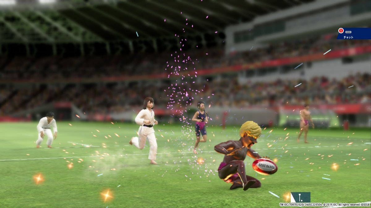 #Tokyo2020 #Play2020 #OfficialVideoGame #NintendoSwitch https://t.co/rKVqXOD8iF
