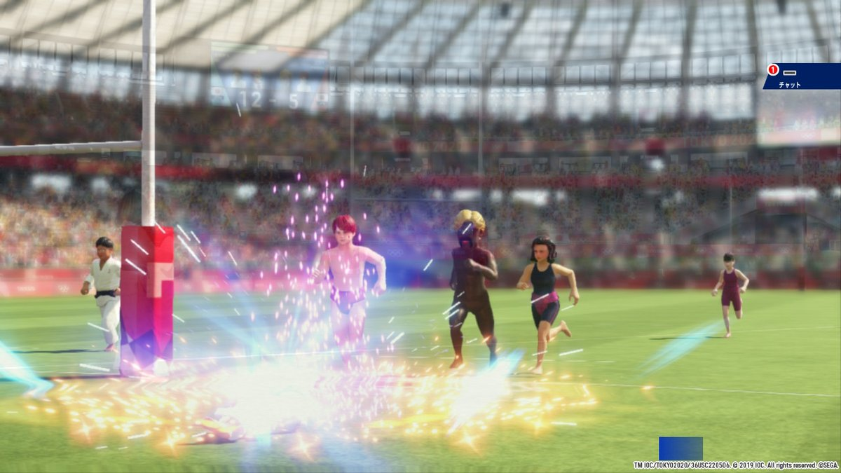 #Tokyo2020 #Play2020 #OfficialVideoGame #NintendoSwitch https://t.co/VMPdF7Pro2