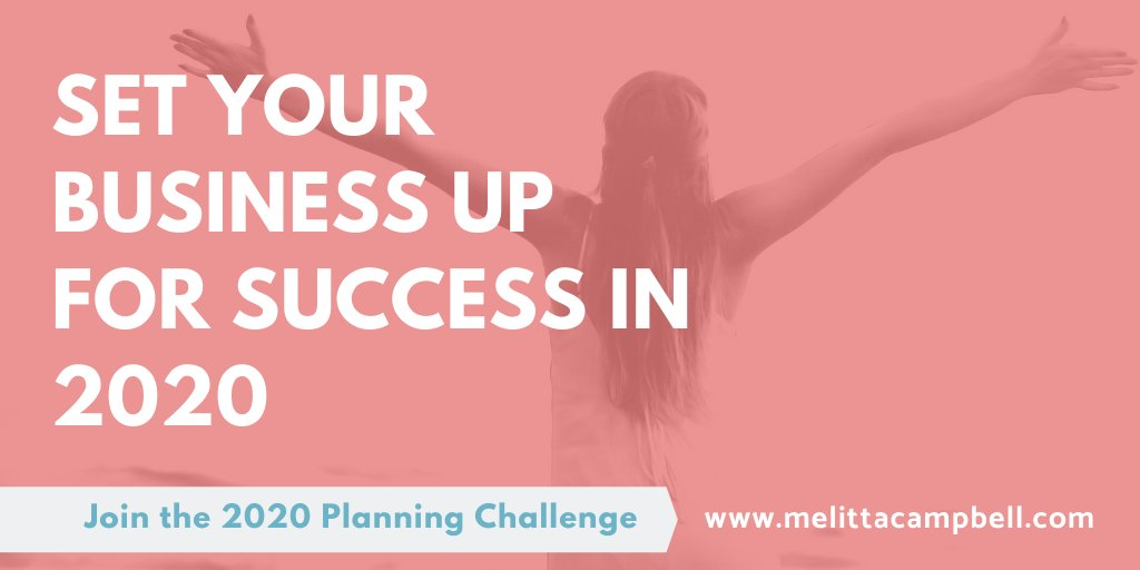 Set your business up for success in 2020 - join the 2020 Planning Challenge!  Follow the 5-day challenge free http://www.melittacampbell.com/2020-planning-challenge …  #goals2020 #Mompreneur #womeninbusiness #goalspic.twitter.com/DltuhmlAiX