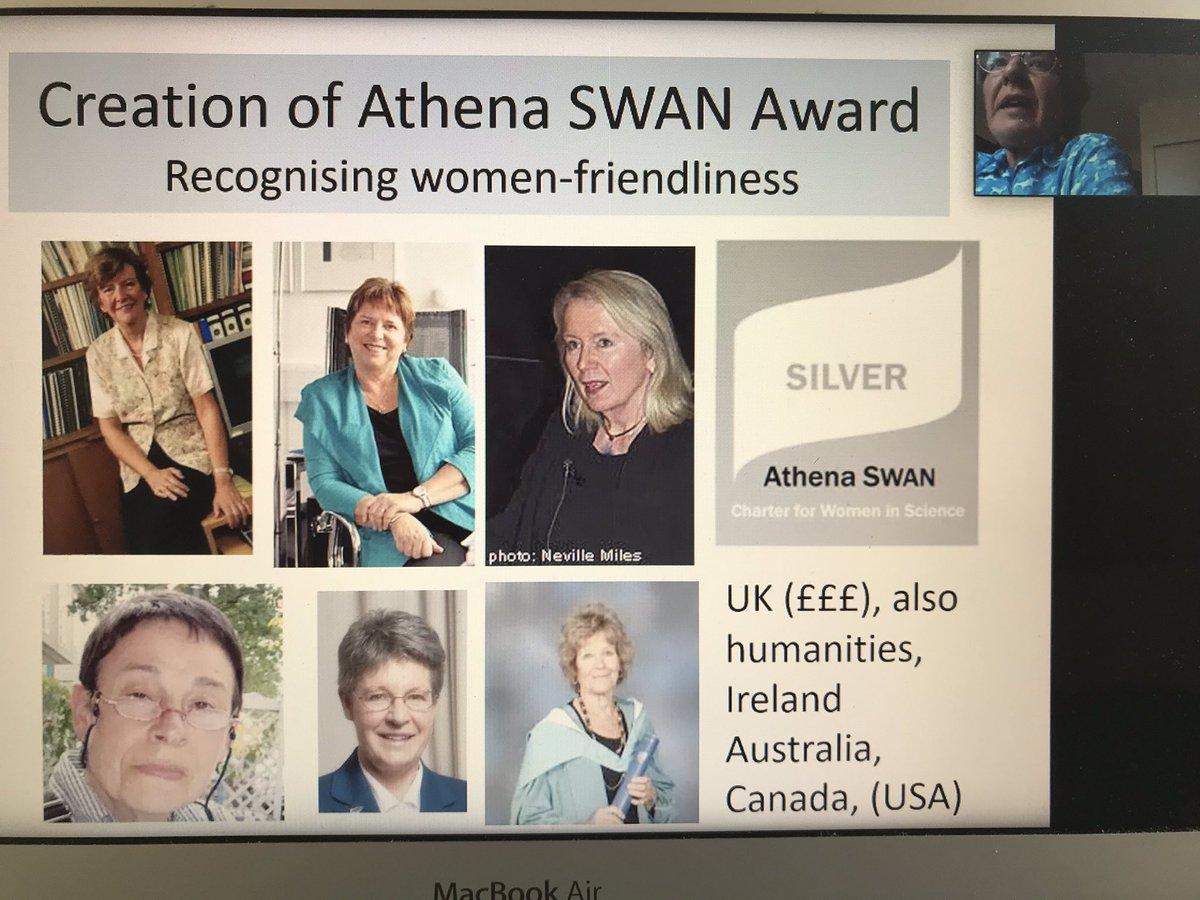 Trailblazing UK women who founded Athena SWAN #WIRIstars
