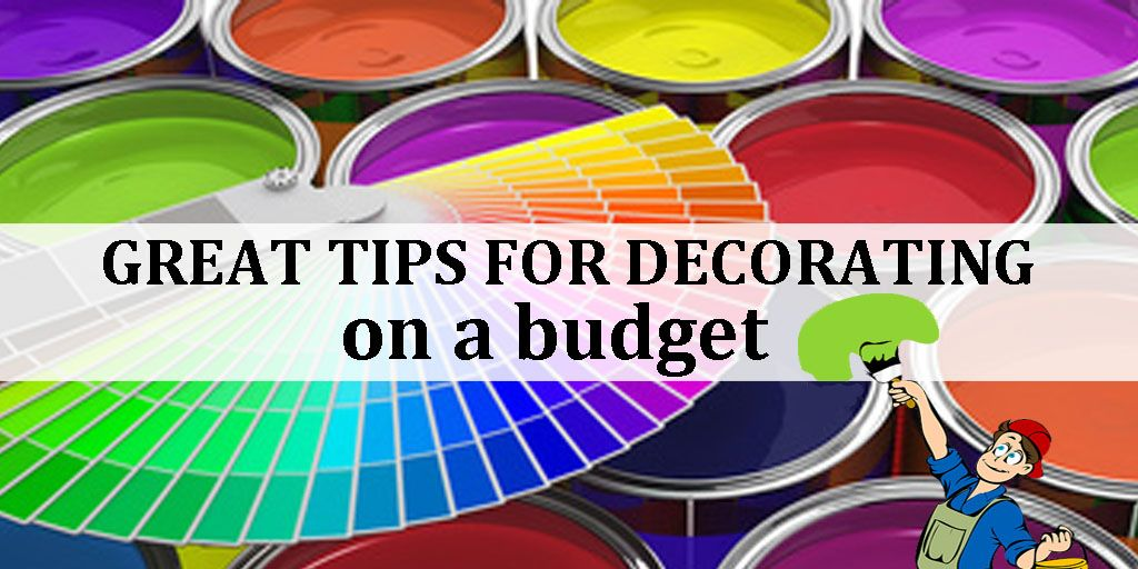Tips For Decorating On a Budget! https://buff.ly/2QONymk #RealEstate pic.twitter.com/EMMu5x3Nzu