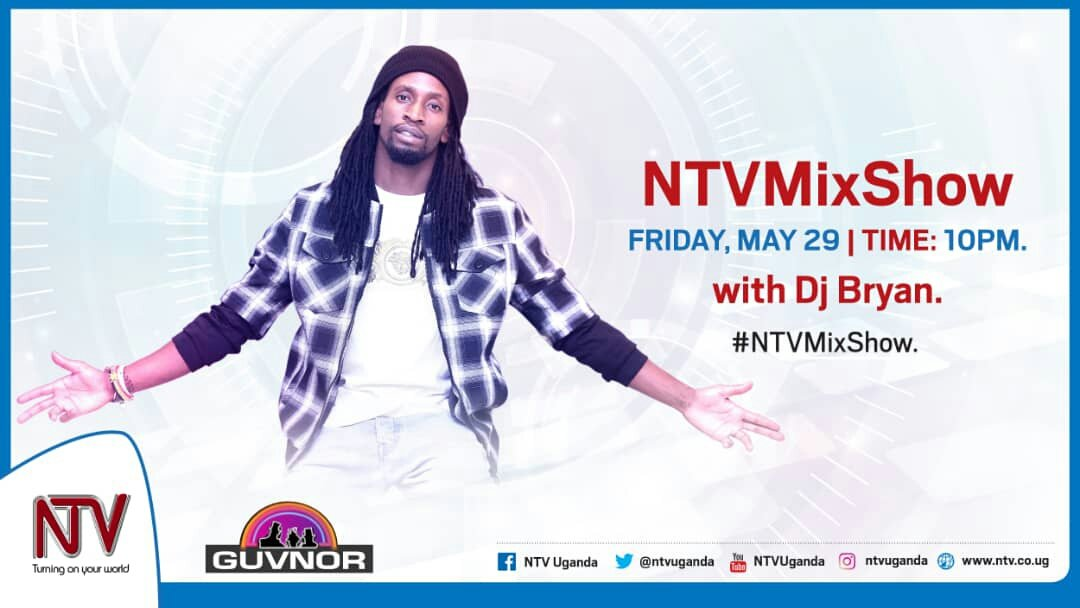 #NTVMixShow is back again tonight With @Deejay_Bryan  and @dagy_nyce  at 10pm on @ntvuganda till dawn. Proudly Sponsored by Bell Lager. #BellJamz https://t.co/L68mOXK2GB