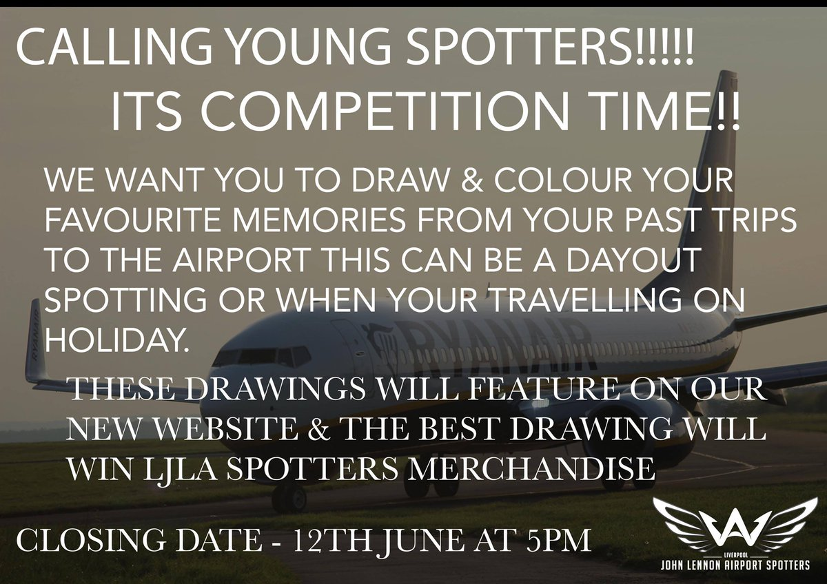 🎨LJLAS Young Spotters Drawing Competition🎨 📔Ages 5-11 Only📔 📣All Details For The Competition Are On The Flyer Below⬇️📣 🗣To Enter Post Your Photo In The Comments With There Name & Age For There Drawing To Be Entered🗣 ☑️Good Luck & No Big Kids Allowed 😂☑️ https://t.co/RNZju8qAFE