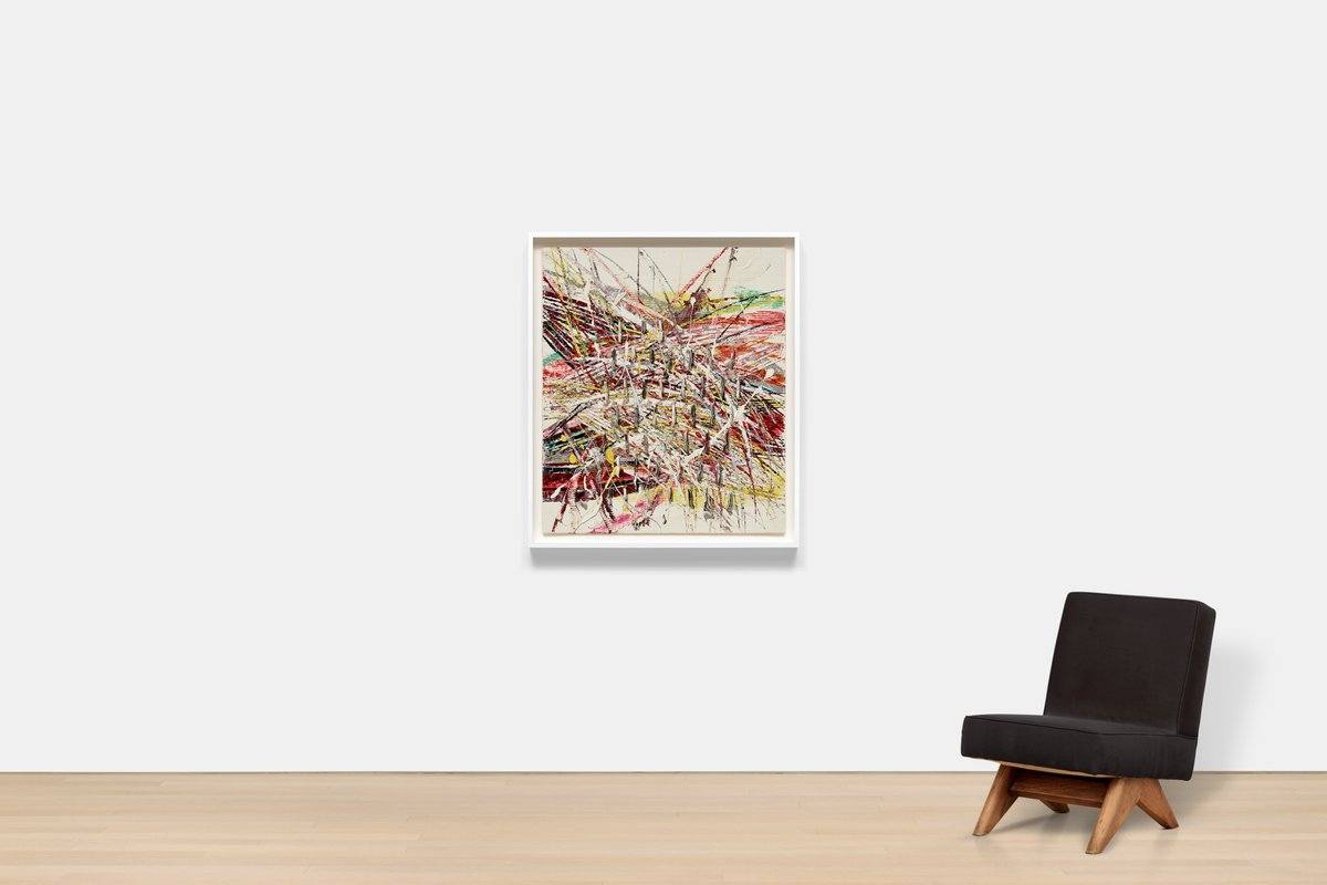 """#GagosianSpotlight: """"'Capri' allowed, or forced, me to go to an interesting area between abstraction and what I think of as nonrepresentation."""" —#MarkGrotjahn: on.gagosian.com/nEa4K0R"""