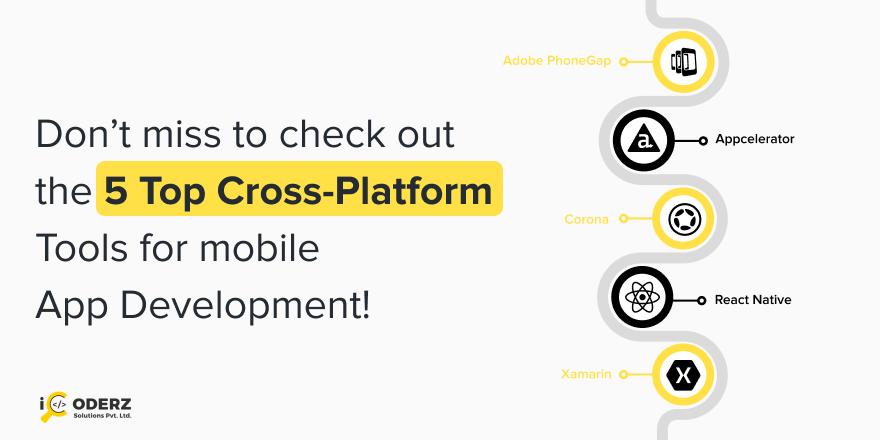 Don't Miss To Check Out The 5 Top Cross-Platform Tools For Mobile App Development! https://bit.ly/2XHLnFj  #icoderz #icoderzsolutions #top5crossplatform #crossplatform #mobileapp #mobileappdevelopment #corona #phonegap #Appcelerator #ReactNative #xamrinpic.twitter.com/w25p4djTUa