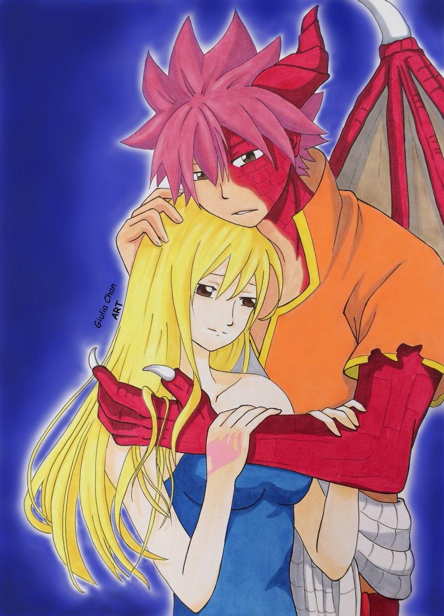 Natsu & Lucy By #FairyTail  #nalu #AnimeArt #manga #anime #drawing #colorart #animecouple pic.twitter.com/TBpCyAce5K