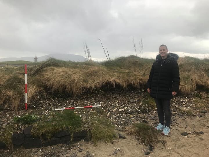 Last week my Nancy and I discovered a substantial midden on the shores of Rosses Point while exploring the shore for archaeology #sligo #sligeach #shellybeach #heritage #rossespoint #coastalheritagepic.twitter.com/SOgRGu5v6c