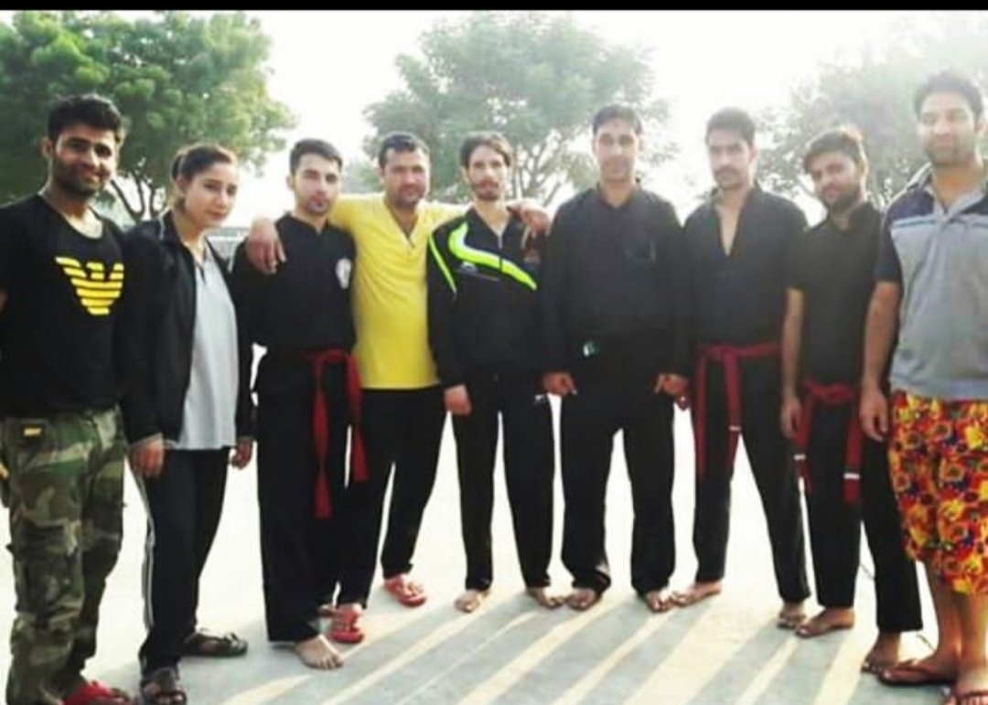 Senior Thang ta martial art players from J&K #Fridaymotivation <br>http://pic.twitter.com/EUbG2cVzX2