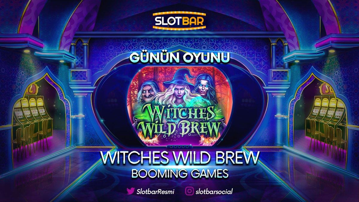 Günün Oyunu (BOOMING GAMES) WITCHES WILD BREW Kazandırıyor! Hemen üye ol ve kazanan sen olŞimdi üye olan herkese 30 Freespin Hediye!  Güncel giriş : http://bit.ly/SlotBarGuncelpic.twitter.com/Wv4p1erOzQ