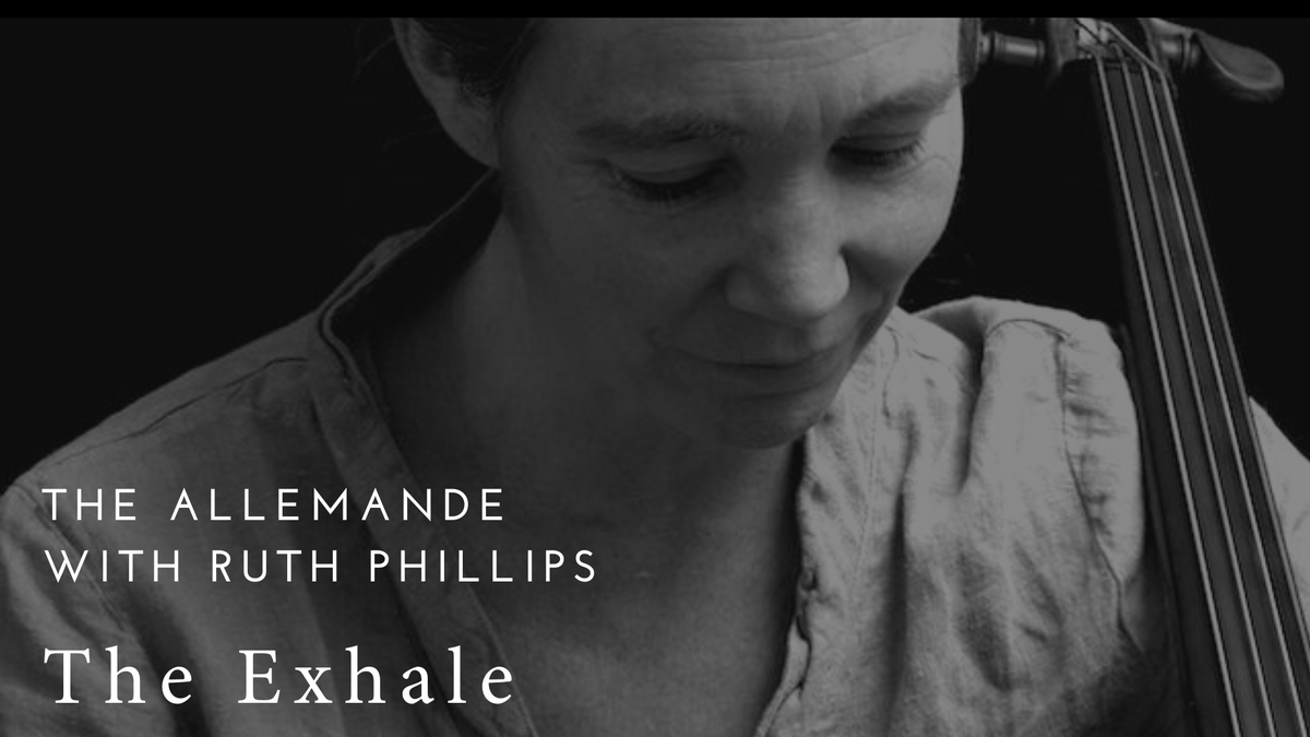 New event just added @The_Exhale_ - cellist Ruth Phillips leads a masterclass exploring the dance movements of the Bach suites through breath and physical gesture. Part 2 The Allemande. 11 June https://calendly.com/the-exhale/ruth-phillips-the-allemande?month=2020-06&back=1 … #Bach #CelloSuites #cello #cellists #BaroqueMusic pic.twitter.com/jxCnbTJRWv