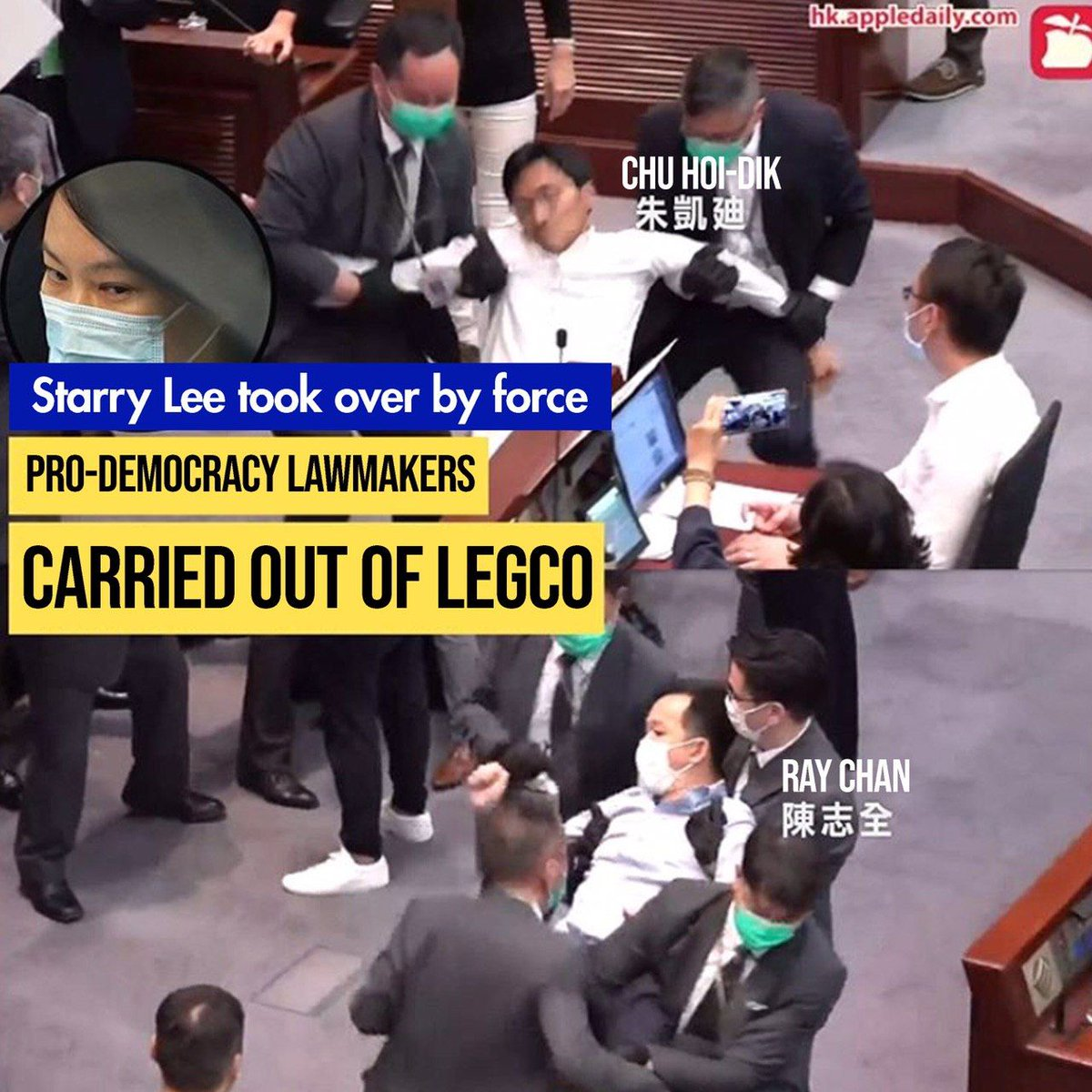 As a #HongKonger, I'm sad to learn that an Australian university is doing what #HongKong's pro #Beijing nationalists'd done to bring in totalitarianism that killed the city lately.  To pick on someone speaking for the oppressed makes one an equal evil as the oppressor.pic.twitter.com/RLu3VtXETf