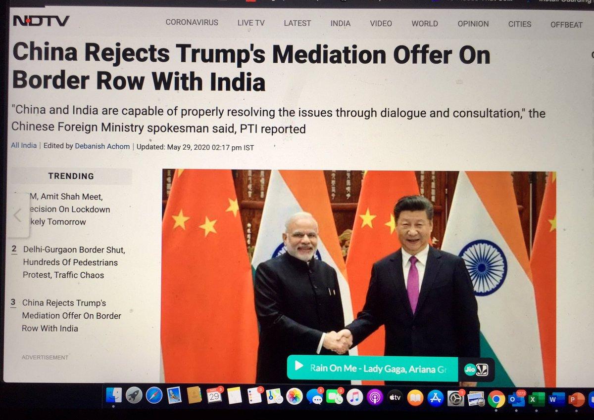 "China saying ""Bhai, tu toh rehne de!"" https://t.co/NGOEvE3aZK https://t.co/B0Tun2DV4B"