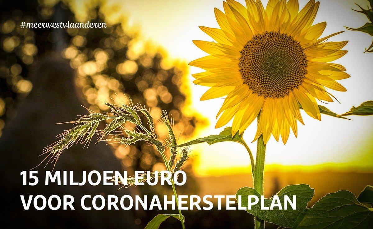 We hebben - in samenwerking met onze agentschappen @InagroBeitem @POMWVL en @Westtoer - een coronaherstelplan klaar om #WestVlaanderen te versterken bij de geleidelijke overgang van een lockdown naar een start-up na de #coronacrisis. Meer info op https://t.co/MtniQPcgb4. https://t.co/kfSTwGy1gb