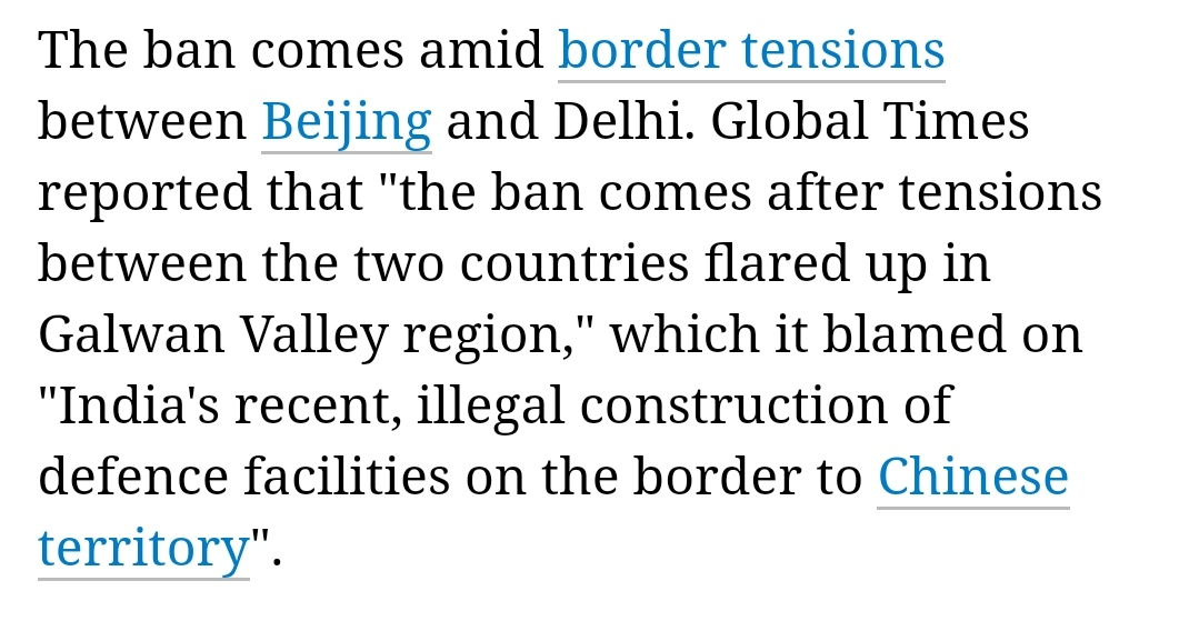👇>>#China says will ban pork imports from #India to 'prevent swine fever m.timesofindia.com/articleshow/76… #borderdispute