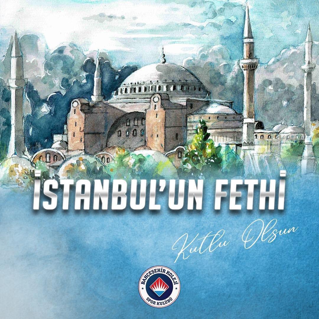 İstanbul'un fethinin 567. yılı kutlu olsun. 🇹🇷  #29Mayıs1453 https://t.co/5BPa1JVmfZ