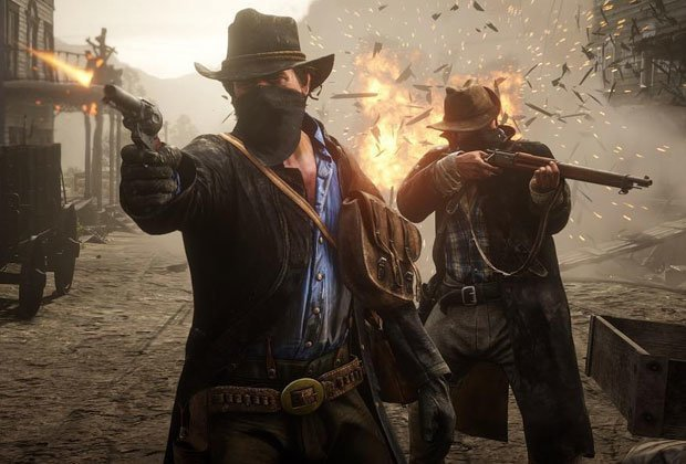 DEAL ALERT: The PS4 version of #RedDeadRedemption2 is on special from @game4u_ this weekend! Price, details: http://ow.ly/IbcC50zT28dpic.twitter.com/V456NOiuu3