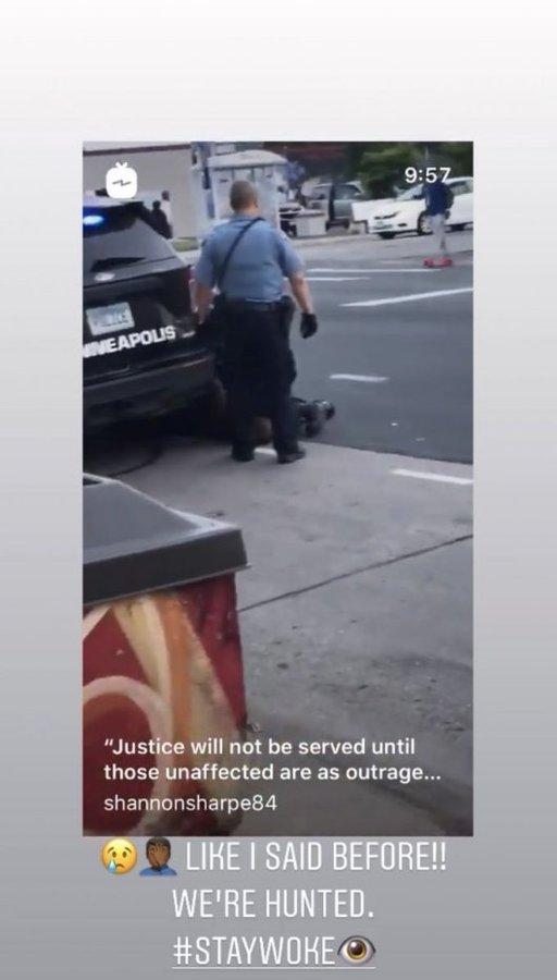 美國黑人遭暴力執法致死,書豪為其發聲:當遭遇種族歧視,我們如何伸張正義?-黑特籃球-NBA新聞影音圖片分享社區
