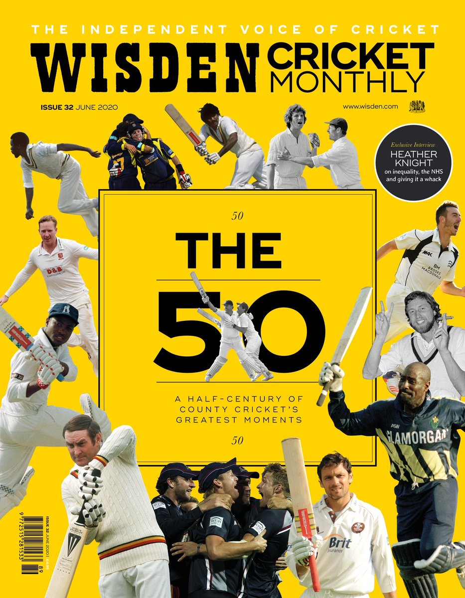 New WCM! For a hefty TFW subscription discount, jump this link - six editions for £6/$10. A steal for the best cricket mag in the world: bit.ly/wcmfinal