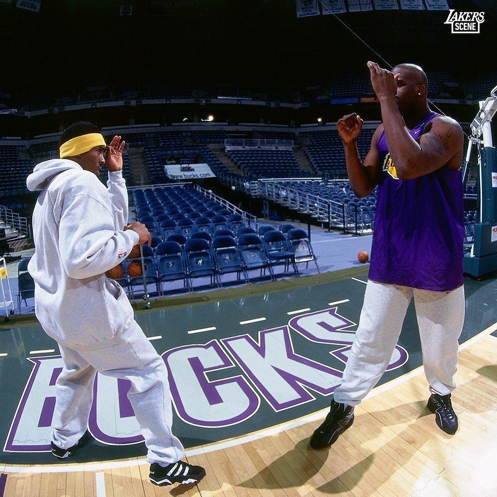 Los Angeles Lakers: Wax on, Wax off. #BestOfLakersBucks...    https://t.co/p5tGOEepij   . https://t.co/Dc4csWzPL8