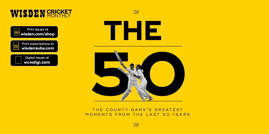 @WisdenCricket issue 32 is out now, celebrating the best our domestic game has to offer. Also, @Phil_Wisden talks to @Heatherknight55 about the NHS, inequality and leadership and @reverse_sweeper ponders when we can get back to club cricket. wisden.com/shop #wisden