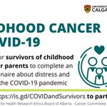 Image for the Tweet beginning: Calling all childhood cancer survivors