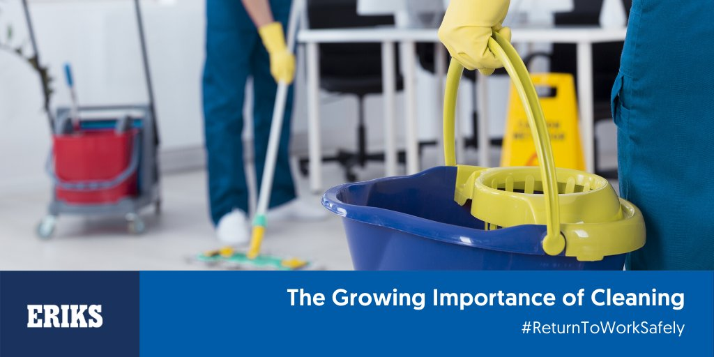 Cleaning will now take a more prevalent role in our daily activities.