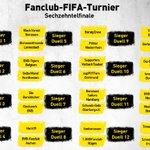 Image for the Tweet beginning: 🎮Gruppenphase des Fanclub-FIFA-Turniers beendet  In den