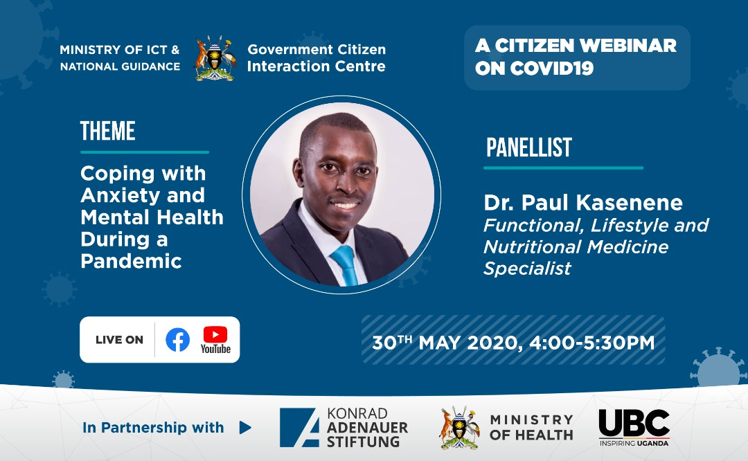 #COVIDWebinarsUG | Sadly, these mental health conditions are so common that it's likely that you know people affected by them, or you may be living with depression yourself.   The picture is bigger, how do we get help in case we need it? Come & join us at 4PM to discuss more. pic.twitter.com/qIEB2kbmGk
