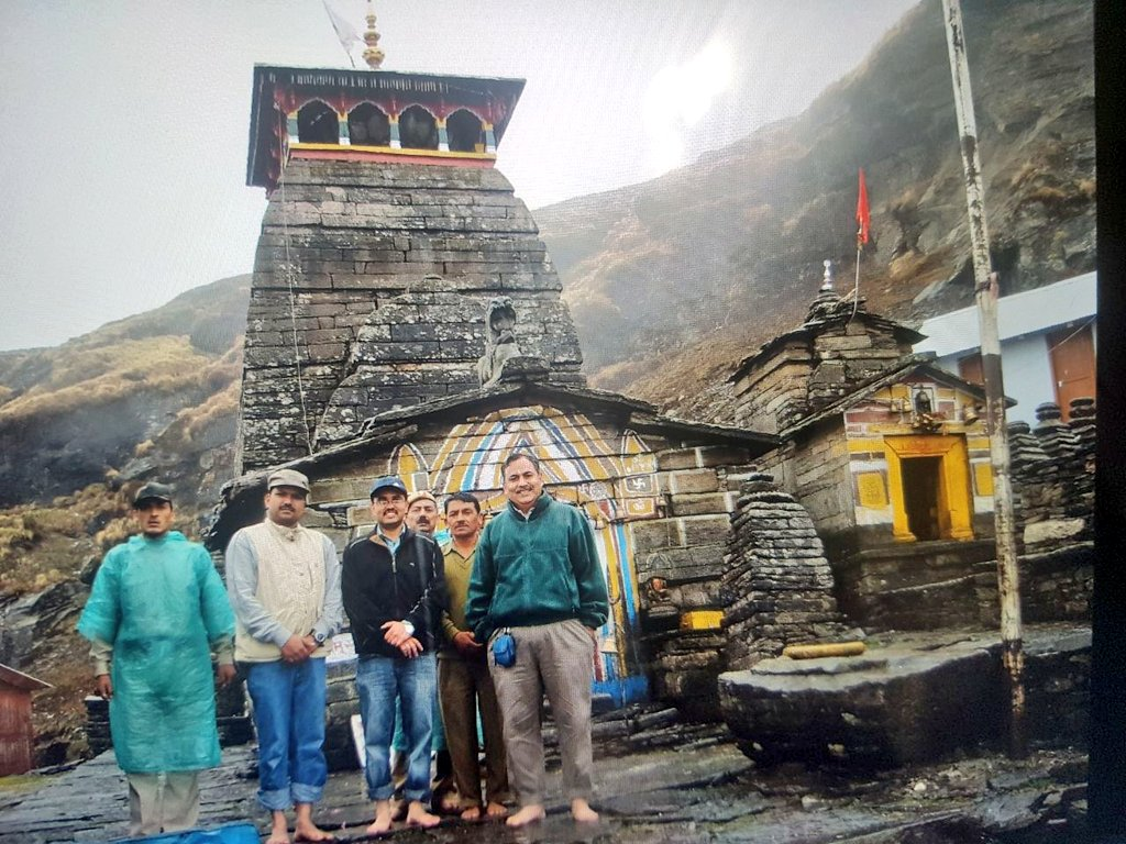 Wonderful memories Sir. Its been more than 10 years, but still remember the trek up to #Tungnath and then to #Shaukkhark via #ravanshila with you & @DigvijayKhati Sir. One of the best habitats for #HimalayanTahr. Hope to return soon to those whispering oaks, wood smoke and mist.. https://t.co/lrGPo8k7VY https://t.co/FRtdJAFA82