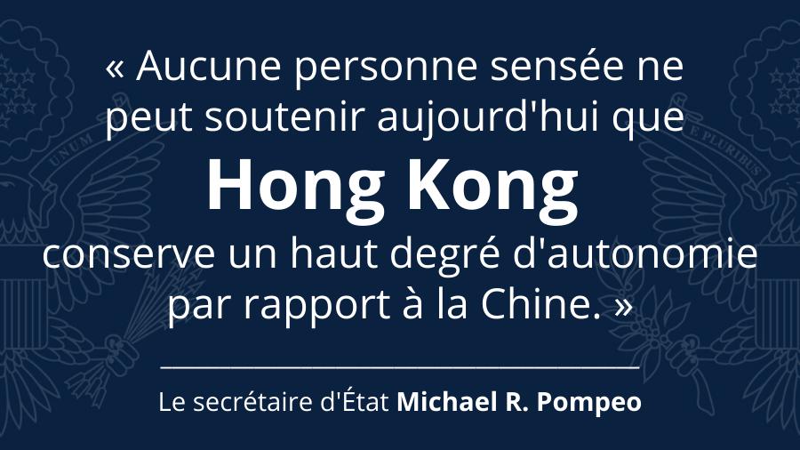 Les États-Unis ont espéré par le passé qu'une Hong Kong libre et prospère servirait d'exemple à la Chine autoritaire, mais il est maintenant clair que c'est la Chine qui façonne  Hong Kong à son image. http://ow.ly/6wIG50zTctYpic.twitter.com/SFxRYHwFHv