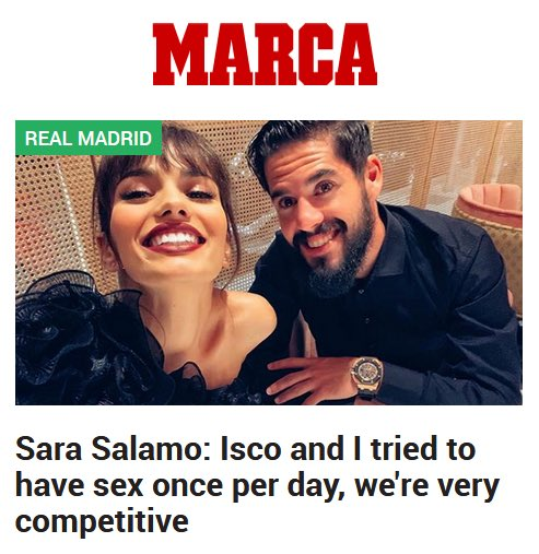 Det är därför grabben bara dyker upp till slutspelet, han spelar ju i en annan liga.... #Isco #RealMadrid #RMUCL #RMLiga https://t.co/NynkhWoUtw
