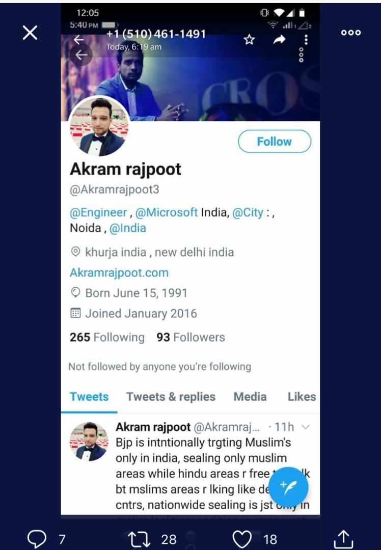 @MicrosoftIndia one of ur employee wants to wage a war against india can u look into this @HMOIndia @MeghUpdates @NewsLineIFE @Aryanwarlord @desertfox61I @bhootnath @LevinaNeythiri @AryaShreshtha1 @AparBharat @srikanthbjp_ @JaiLaxmiNarayan @mmpandit @Manesha76 @girishs2<br>http://pic.twitter.com/HQTeVBfuNC