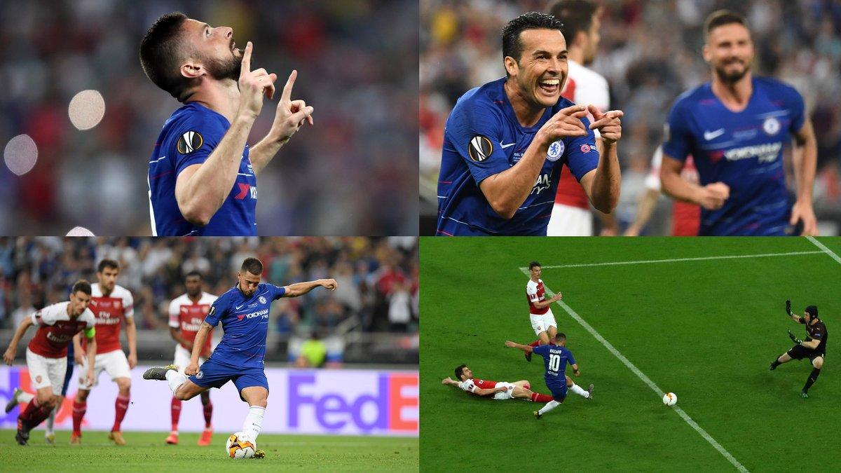 Happy Baku day fellow Chelsea fans. Retweet to annoy an Arsenal fan 😂 #UEL #UELfinal https://t.co/G4X0dmKKgm