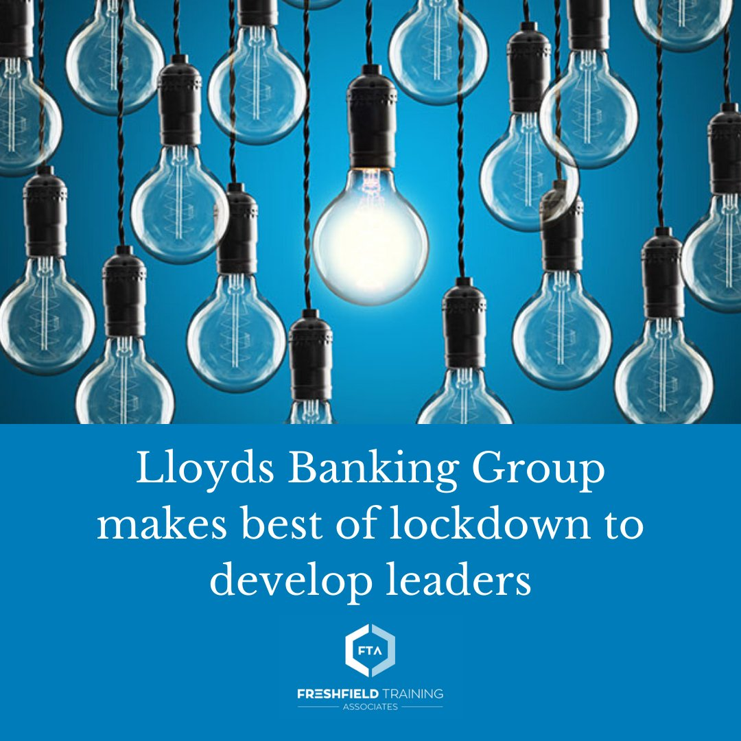 Lloyds Banking Group launched a leadership learning programme for new-to-role line managers just days before coronavirus lockdown measures were announced.   Read more: https://t.co/PELePCV9sZ https://t.co/NY7cVUoFTN