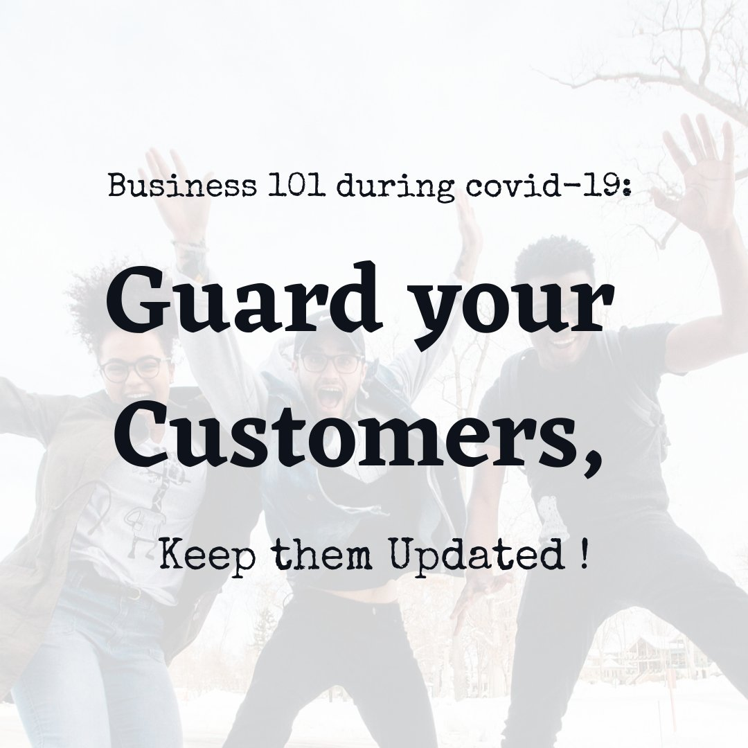 Simple ways of guarding your customers. Have a great weekend.  #digitalmarketing #customerservice #socialmediamarketing   https://www.instagram.com/p/CAxJh_Kg9Xc/?utm_source=ig_web_button_share_sheet…pic.twitter.com/wSVzMo9vfB