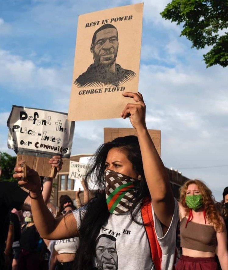 Say their names! Rassismus tötet! #Solingen #Minneapolis #GeorgeFloyd #BlackLivesMatter #Hanau