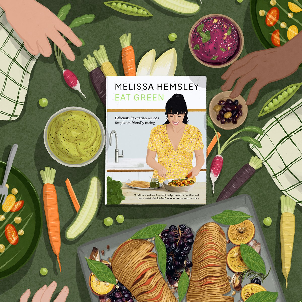 In the second instalment of A Home-Cooked Summer, green-eating champion @MelissaHemsley shares 5 planet-friendly, lockdown-ready recipes, including a fresh take on a classic summer salad and some mouthwatering tahini cookies: https://t.co/3kuqzejtTY https://t.co/hkipAkDH0e
