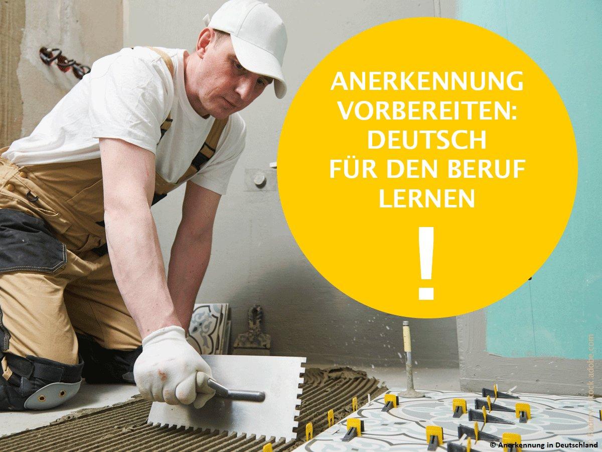 Gerade im Beruf ist Sprache essentiell – für Menschen mit einer anderen Erstsprache als Deutsch ist das hier aber gar nicht so leicht. 🗣🤔Anerkennung in Deutschland hat deshalb eine Linksammlung mit nützlichen Sprachhilfen für Handwerksberufe erstellt ▶ tinyurl.com/yaumeddq