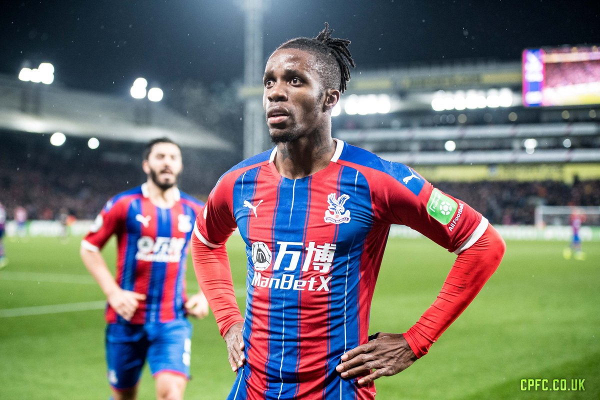 Wilfried Zaha Palace debut: 27/03/2010 Palace appearances: 353 Palace Player of the Year: 🏆🏆🏆 Palaces all-time leading Premier League goalscorer #CPFC