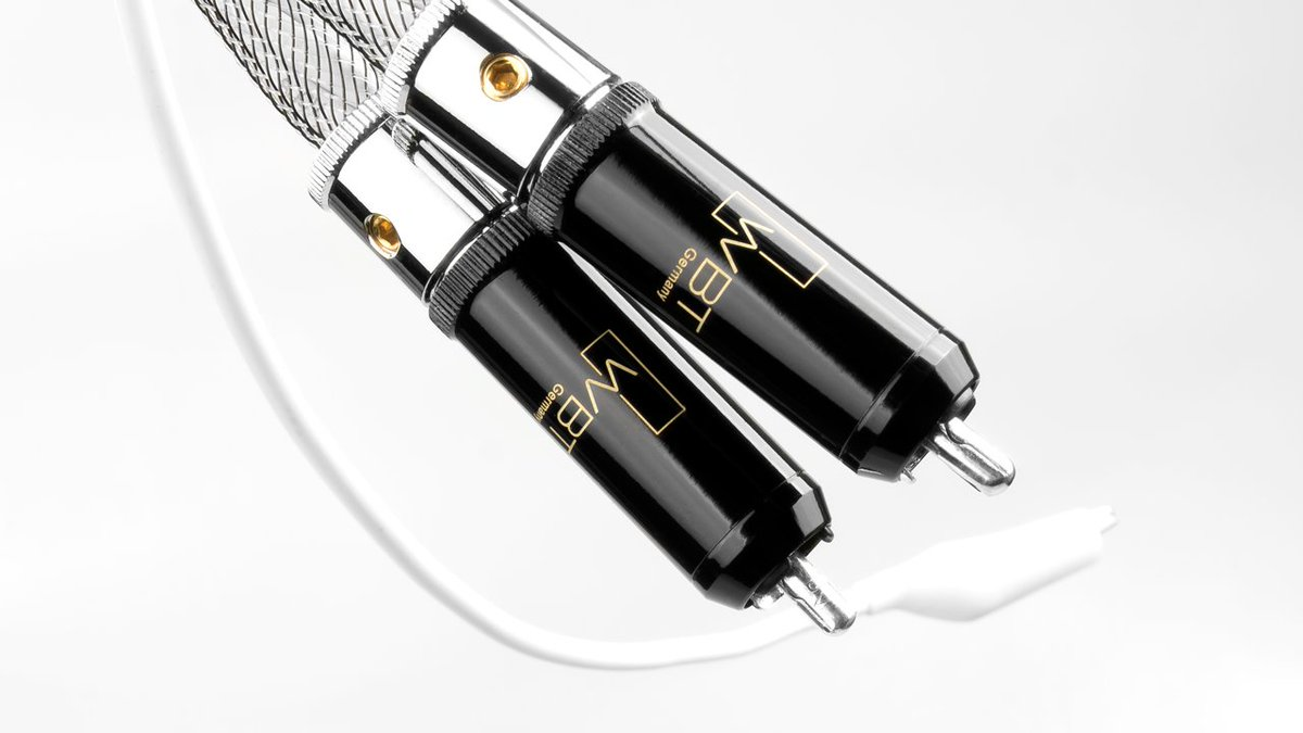 Silver plated  WBT 0102 Ag nextgen plugs used in our flagship phono interconnect called 'Thasso Consequence'  Find out more: http://bit.ly/2JOvHf2  http://www.audiomica.compic.twitter.com/r0P1bpcMqP