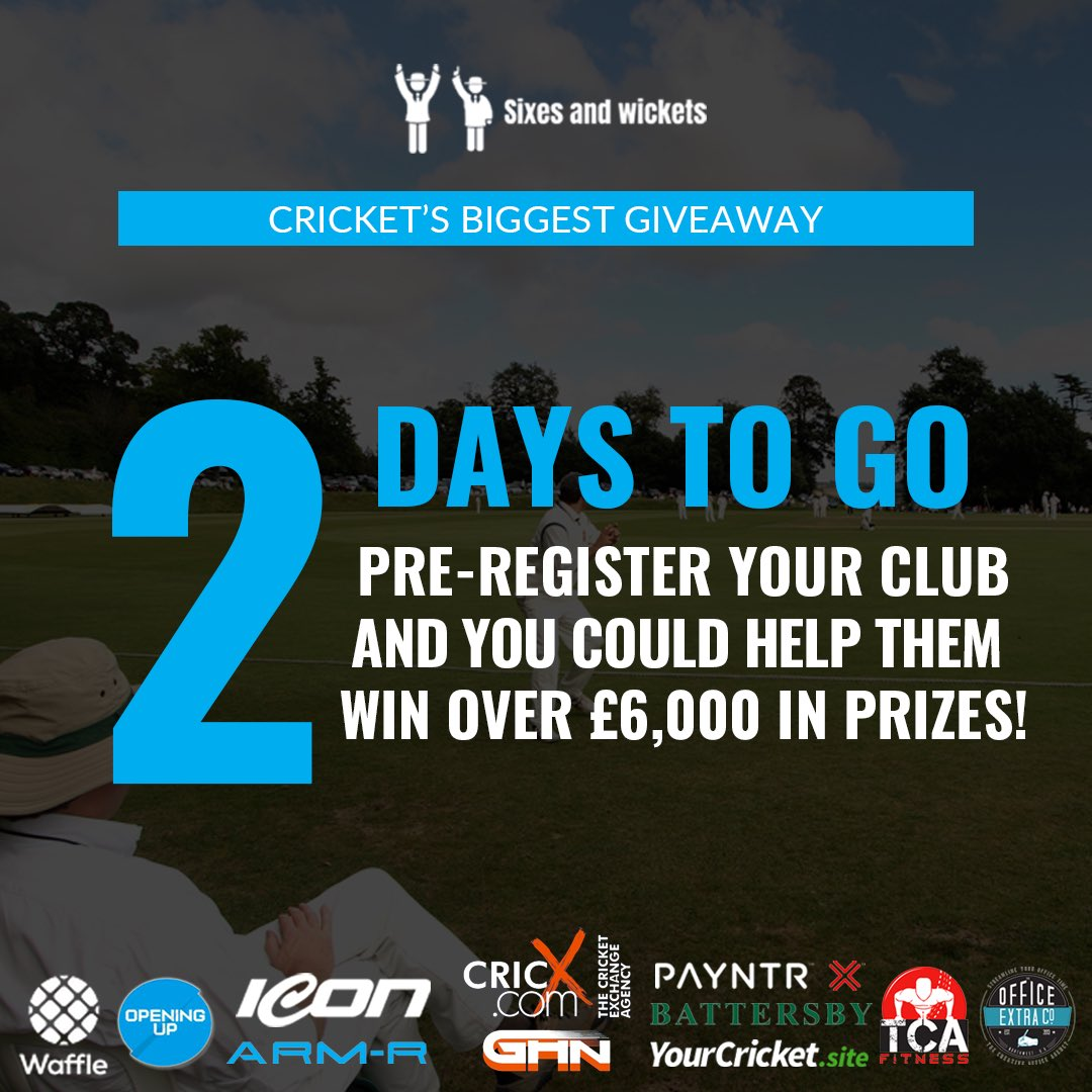 You will want to get your #club and #members behind this when it starts! 🏏💥🎉 Get the heads up and Pre Register here: bit.ly/36xLaZt RT @lpoolcomp @lancs_league @gmcl_officialsc @GtrMcrCricket @npremierleague @CarmarthenWands