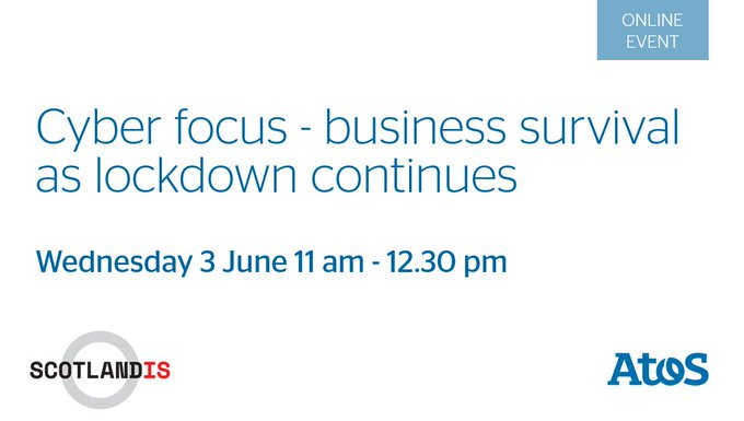 Join Sandy Forrest & Gareth Lawrence, Atos, on how to build future #CyberSecurity...