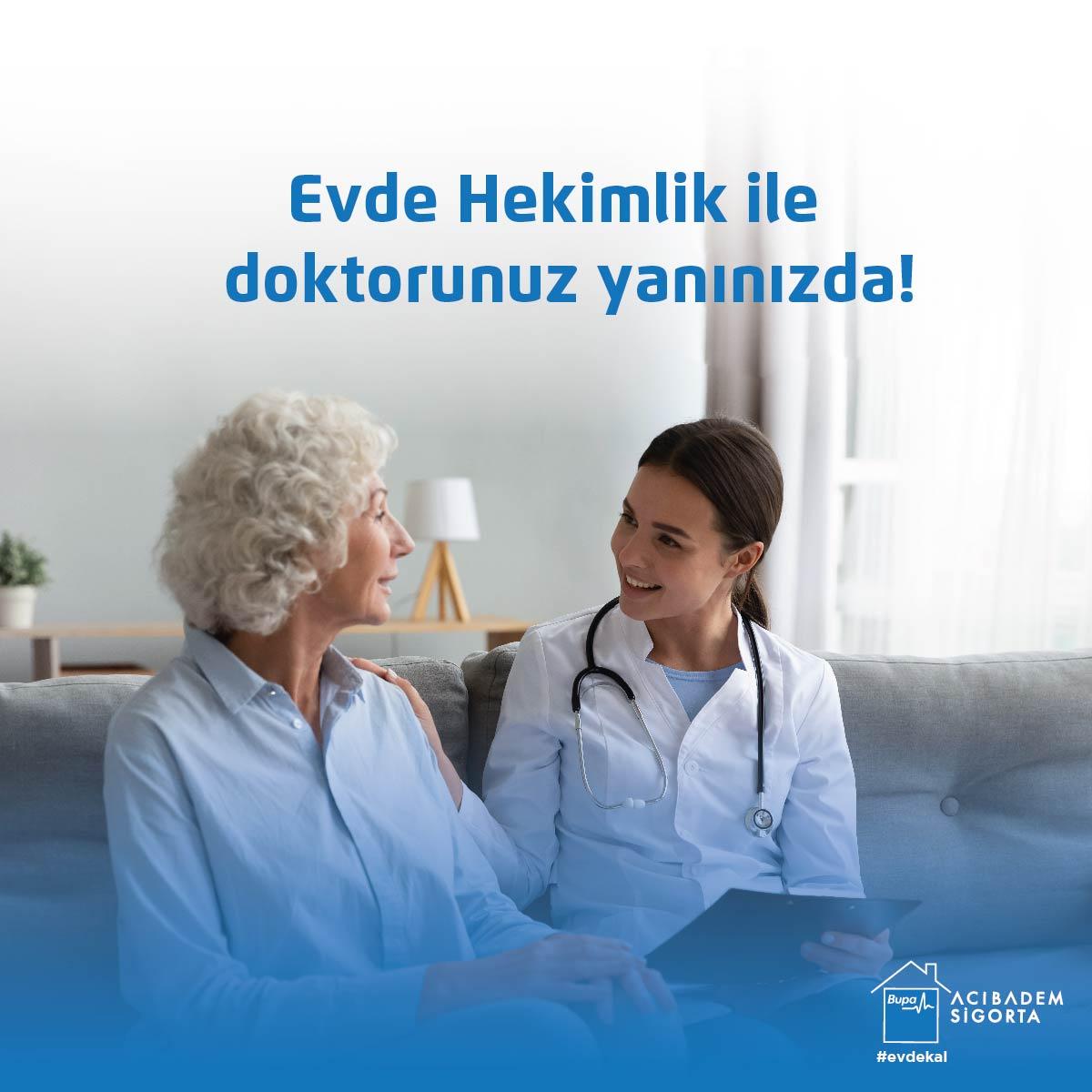 """senCard Sağlıklı Yaşam Merkezi """"Evde Hekimlik"""" hizmetiyle doktorunuz yanınızda!!👩⚕️👨⚕️  Detaylı bilgi için 👉 https://t.co/0eOZEaz2sm  #EvdeHekimlik #BupaAcıbademSigortaYanında #YanYanaOlamasakDaBeraberiz #Covid_19 #EvdeKal #BupaAcıbademSigorta https://t.co/qbiIQPX3g1"""