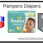 Image for the Tweet beginning: Rite Aid: Pampers Diapers ONLY