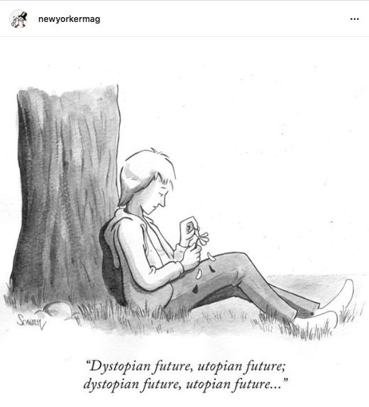 Fingers crossed. #NewYorkerCartoons #NewYorkerMag